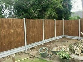 Fencing garden, landscaping services