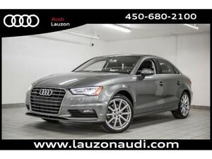 2016 Audi A3 2.0T KOMFORT QUATTRO STYLING PACK 18