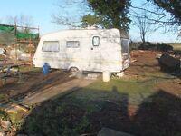 Rural caravann in quiet scenic location