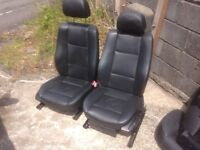 BMW E46 Tourer leather interior and load cover