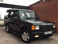 Land Rover DISCOVERY 2 2.5 TD5 ES 5dr FULL LEATHER INTERIOR+7 SEATER