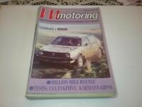 VW Safer Motoring Magazines Bundle 12 Issues 1988