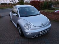2006MY Volkswagen Beetle 1.6-ONLY 75K Miles - 1 YEAR WARRANTY INCLUDED