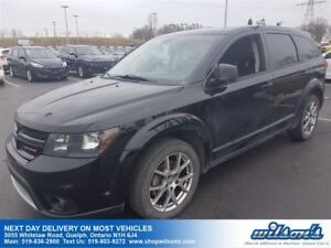 2014 Dodge Journey R/T AWD 7-PASS SUV! LEATHER! NAV! SUNROOF! RE
