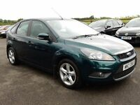 2008 ford focus 1.6 petrol style with only 72000 miles, motd until JULY 2017 face lift model