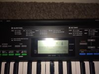 Casio CTK 3400SK keyboard/piano - headphones/power cable included