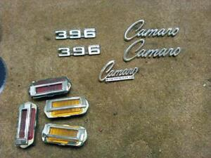 1969 marker lamps and emblems
