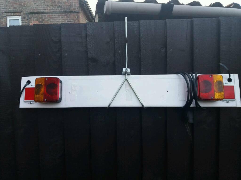 Car trailer light board small with hook £10 | in Derby, Derbyshire | Gumtree