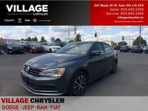 2016 Volkswagen Jetta Comfortline 1.8T|Sunroof|Heated Seats|Blue