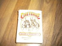 Vintage playing cards Cheyenne Saloon and opera house Church st Station Orlando florida