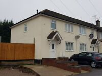 3 bedroom end of terrace house to rent Manor Crescent - NO FEES