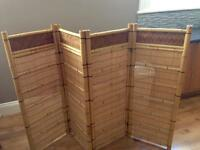 Bambo room divider