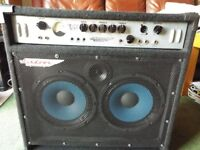 ASHDOWN MAG 300 2x10 300watts BASS AMP Combo. Manual, Lead & Cover. A1 Condition Working Perfectly