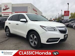 2015 Acura MDX LEATHER   REAR CAM   ONE OWNER   PUSH START  