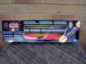 star wars darth maul light sabre.