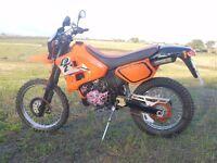 Yamaha dt 125 2 stroke nice tidy bike dtr 125