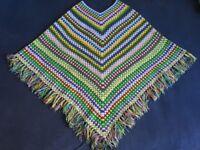 Crochet women hippie poncho