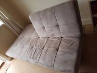 SOFA BED - Excellent condition - easy & simple transformation into bed & back again!