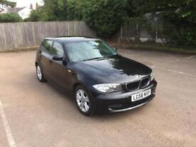 BMW 1 Series 5 door service history 2x keys