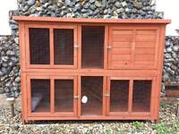 ~ EXTRA LARGE, DOUBLE RABBIT HUTCH ~