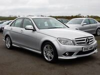 2008 Mercedes C-class 220 diesel sport low miles motd august 2017 all cards welcome
