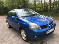 RENAULT CLIO **2007 FACELIFT MODEL*LOW MILES** MOT EXPIRES MAY 2019** IDEAL 1ST CAR**