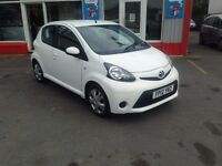 2012 Toyota Aygo 1.0 Ice, AUTOMATIC, only 20,167 miles, Excellent condition throughout.
