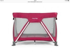 Nuna travel cot