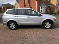 2006 56 SSANGYONG KYRON 2.0 TD SE 5DR 4X4 FULL SERVICE HISTORY LOW MILEAGE