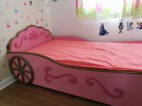 Princess Single bed with free mattress