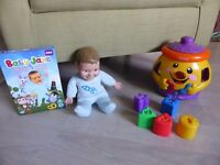 Baby Jake double dvd pack and toy