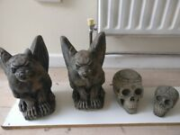Gargoyles & Skulls - Decorated