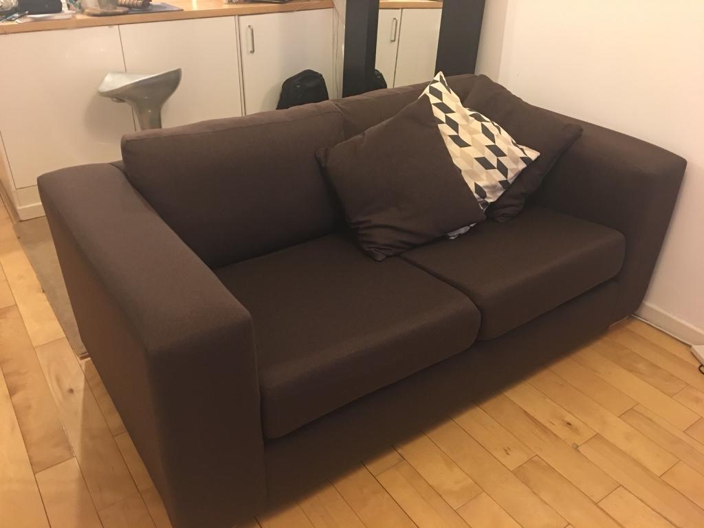 e42d3fe2c1c Burgundy 2 seats sofa