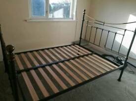 Double bed ready for collection