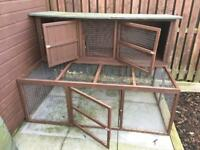Large Rabbit Hutch with extras