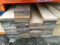 Unbanded - Untreated Scaffold Boards (38mm x 225mm) 2.4mtr Lengths