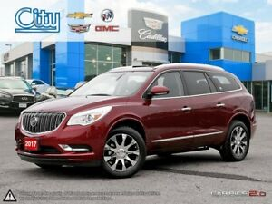 2017 Buick Enclave Leather **CXL ONE OWNER LEATHER SUNROOF NA...