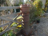 KING CHIMNEY / CROWN CHIMNEY - GARDEN PLANTER / GARDEN FEATURE -