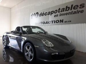 2007 Porsche Boxster DÉCAPOTABLE
