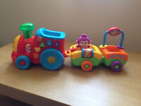 Used Vtech train and trailer