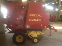 New Holland 648 Belt Baler