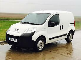 PEUGEOT BIPPER 'S' (2014 - 14 REG) 'HDI - DIESEL - 5 SPEED - ELEC PACK' (1 COMPANY OWNER FROM NEW)