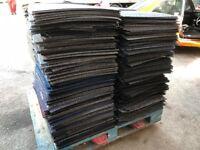 1 Pallet of Mixed Colour Carpet Tiles