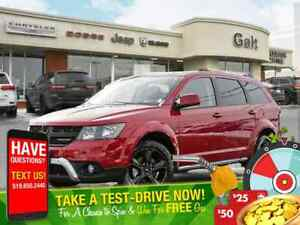 2018 Dodge Journey CROSSROAD AWD | LEATHER PARK ASSIST SUNROOF