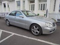 54 REG MERCEDES S-CLASS 320 DIESEL WITH FULL SERVICE HISTORY