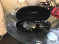 Original Gucci men's sunglasses green