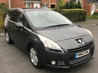 2010 PEUGEOT 5008 1.6 HDI EXCLUSIVE, DIESEL, 6 SPEED MANUAL, 7 SEATER, DRIVES GREAT !!