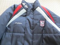 Men's Ipswich Town FC winter jacket Navy - Large with logo