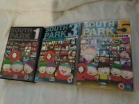South Park Seasons 1/3/5 DVD