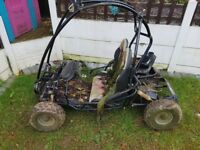 quadzilla kids off road buggy go kart spares repair no engine